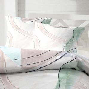 Bettwäsche »Bubble Gum«, Primera, mit kunstvollen Aquarelleffekten