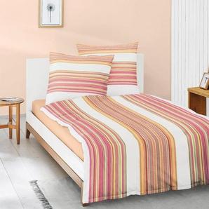 Bettwäsche »Eos 8096«, Irisette, mit farbigen Streifen