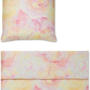 Bettwäsche »Haze«, Yes for Bed, mit Aquarellblüten