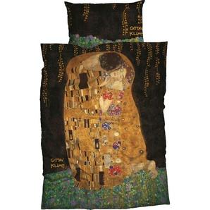 Bettwäsche »Kuss«, Goebel, mit Klimt Gemälde