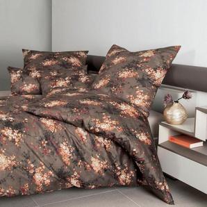 Bettwäsche »MESSINA 43097«, Janine, mit floralem Muster