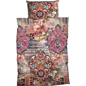 Bettwäsche »Miranda«, CASATEX, dezenter Mustermix aus Blumen, Ornamentik und Streifen