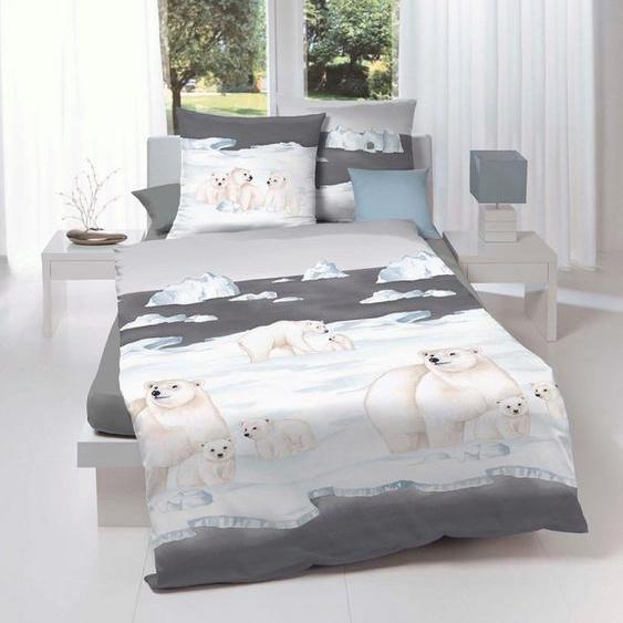 Bettwäsche »Nordpol«, Kaeppel, mit Eisbären