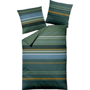Bettwäsche »Querstreifen«, Dormisette, mit unterschiedlich breiten Streifen