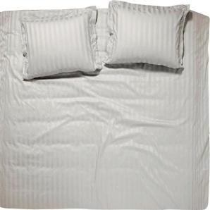 Bettwäsche »Streifsatin«, damai, mit dezenten Streifen