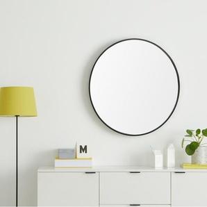 Wandspiegel in schwarz preisvergleich moebel 24 - Runder spiegel schwarz ...