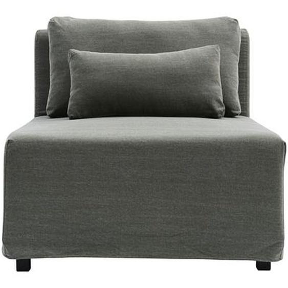 Bezug für Mittelteil Base aus Baumwolle in Grün 85 x 85 x 44 cm