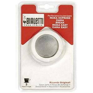 Bialetti Gummidichtung & Filter für 3 Tassen Espressobereiter (1 Stück)