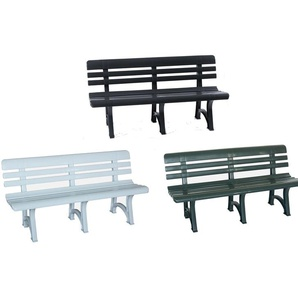 Bica Gartenbank »Olimpia«, 3-Sitzer, Kunststoff, witterungsbeständig, 330 kg Belastbarkeit