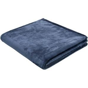 Biederlack Wohndecke »Arctic Shine«, 150x200 cm, blau