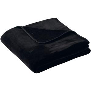 Biederlack Wohndecke »Pure Soft«, 150x200 cm, schwarz