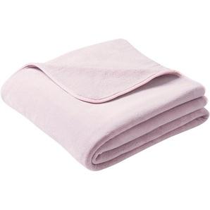 Biederlack Wohndecke »Pure Soft«, 180x220 cm, rosa