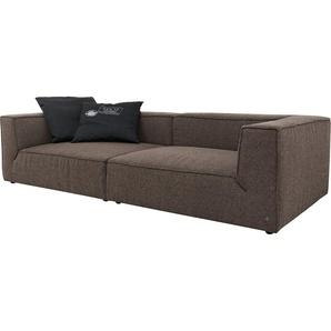 Big-Sofa »BIG CUBE«, Mit Sitztiefenverstellung, Breite 270cm, TOM TAILOR