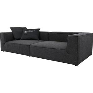 Big-Sofa , Mit Sitztiefenverstellung, Breite 270cm, »BIG CUBE«, TOM TAILOR