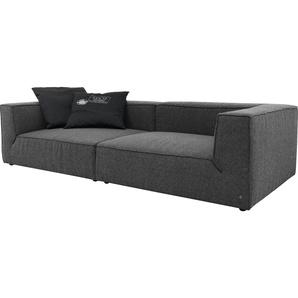 Big-Sofa , Mit Sitztiefenverstellung, Breite 300cm, »BIG CUBE«, TOM TAILOR
