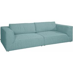 TOM TAILOR Big-Sofa , blau, 240cm, »BIG CUBE STYLE«, FSC®-zertifiziert