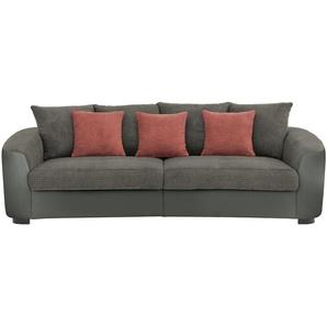 Big Sofa  Cancuun ¦ grau ¦ Maße (cm): B: 242 H: 62 T: 129