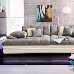 Big-Sofa, beige, 318cm, Energieeffizienzklasse: A, Nova Via