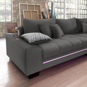 Big-Sofa, grau, 300cm, Nova Via