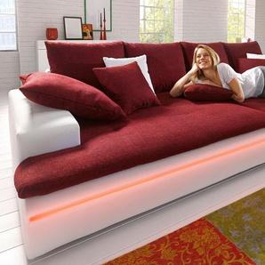 Big-Sofa, weiß, 260cm, Energieeffizienzklasse: A, FSC®-zertifiziert, Nova Via