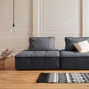 Big-Sofa , dunkelgrau, 255cm, »Montpellier«, Guido Maria Kretschmer Home&Living