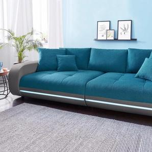 Big-Sofa, hellgrau, 290cm, Nova Via
