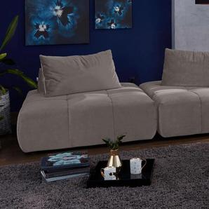 Big-Sofa »Lyon«, grau, 255cm, Guido Maria Kretschmer Home&Living