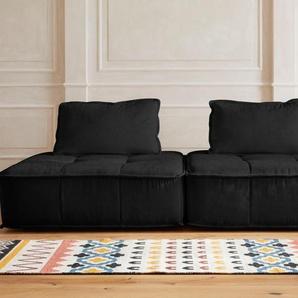 Big-Sofa »Montpellier«, grau, 255cm, Guido Maria Kretschmer Home&Living