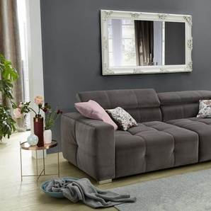 Big-Sofa Trento in grau