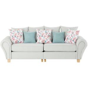 Big Sofa  Vinona ¦ grün ¦ Maße (cm): B: 264 H: 102 T: 108