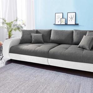 Big-Sofa, weiß, 290cm, Nova Via