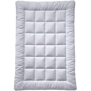 Billerbeck Ganzjahresbett 200/200 cm , Weiß , Textil , 200x200 cm