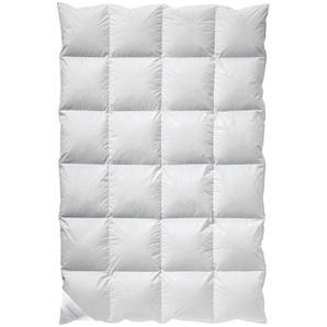 Billerbeck Kassettendecke 135/200 cm , Weiß , Textil , 135x200 cm