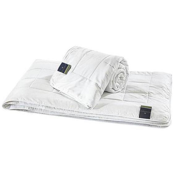 Billerbeck Sommerbett Sari Superlight 135/200 cm , Weiß , Textil , 135 cm