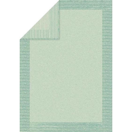 Bio:Vio Kuscheldecke 140/200 cm Türkis , Textil , Abstraktes , 140 cm