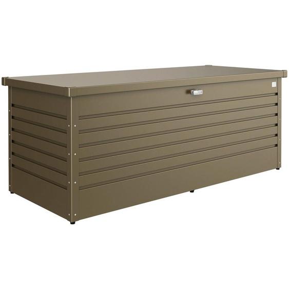 Biohort Aufbewahrungsbox »Freizeitbox 180«, BxTxH: 181x79x71 cm, bronzefarben metallic