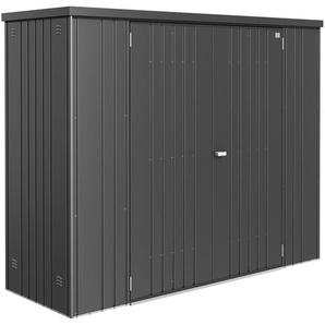 Biohort Geräteschrank Gr. 230 Dunkelgrau-Metallic B x T: 227 cm x 83 cm