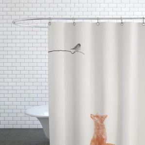 Bird And Fox-Duschvorhang