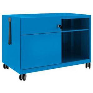 BISLEY Note™ Caddy Rollcontainer blau/blau