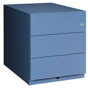 BISLEY Note Rollcontainer blau/blau
