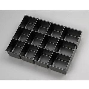 BISLEY PIT451P1800 Schubladeneinsatz schwarz