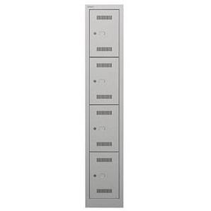 BISLEY Schließfachschrank MonoBloc ML03S4 grau/grau