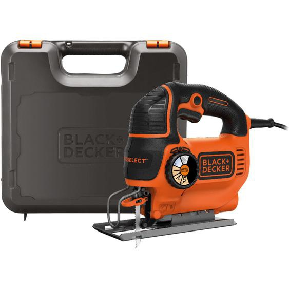 Black & Decker Stichsäge Pendelhub-Stichsäge KS801SEK