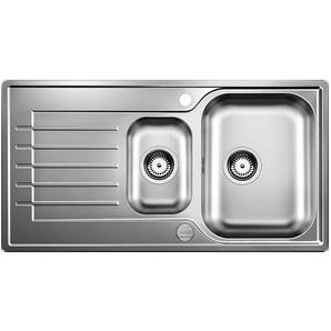 Blanco 514615 Küchenspüle Zia 6 S, Edelstahl, Bürstfinish