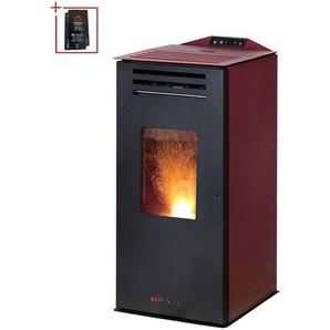 Blaze Pelletofen »Anna«, 6,3 kW, bordeaux