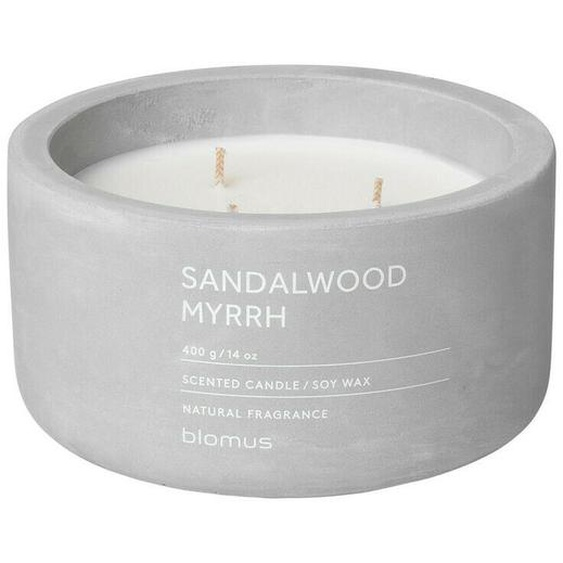 Blomus Fraga Duftkerze Sandalwood Myrrh, Duft Kerze, Beton, Micro