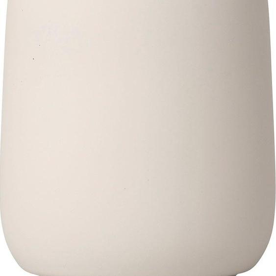 BLOMUS Zahnputzbecher SONO 8,5x8,5x11 cm beige Badaccessoires Badmöbel Dekobecher