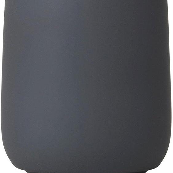BLOMUS Zahnputzbecher SONO 8,5x8,5x11 cm grau Badaccessoires Badmöbel Dekobecher