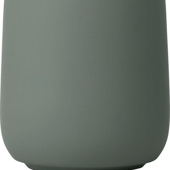 BLOMUS Zahnputzbecher SONO 8,5x8,5x11 cm grün Badaccessoires Badmöbel Dekobecher