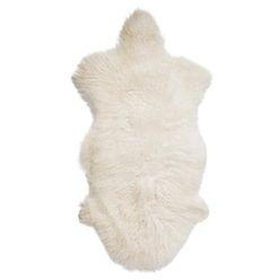 Bloomingville - Mongolisches Lammfell, weiß